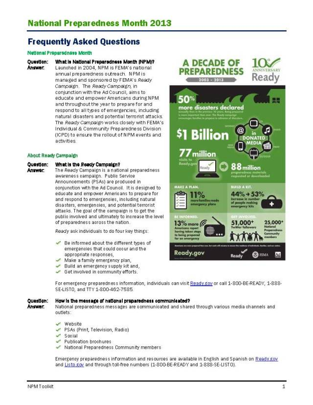 National_Preparedness_Month_Toolkit_2013_FAQ_Page_1
